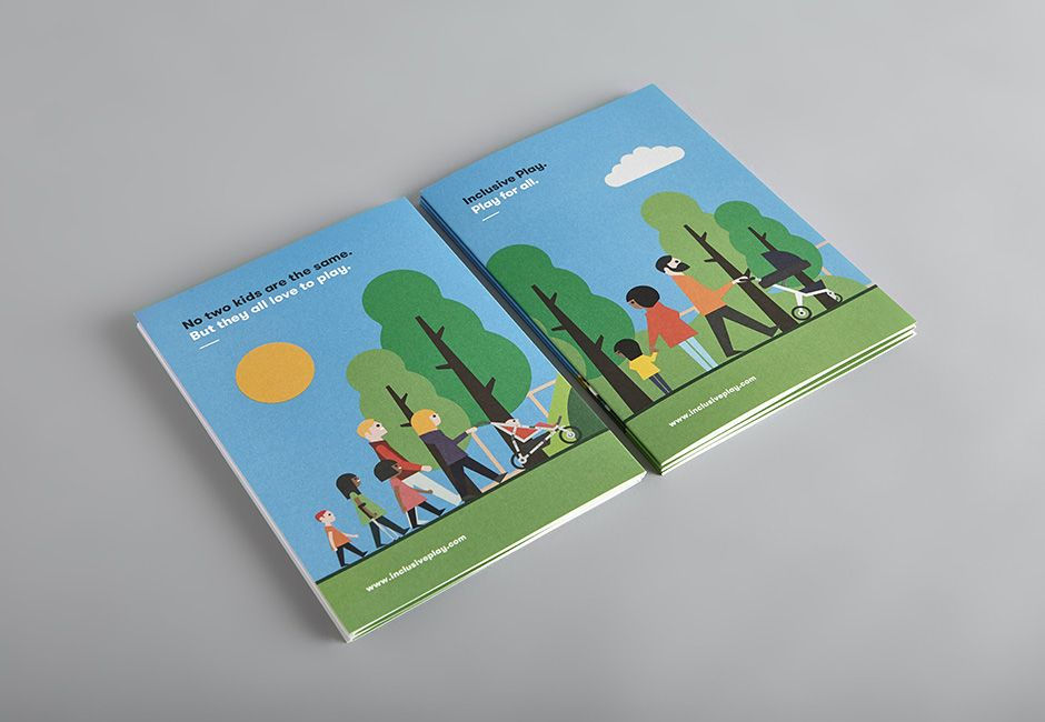 Inclusive Play brochure designed by Touch.   Print ...