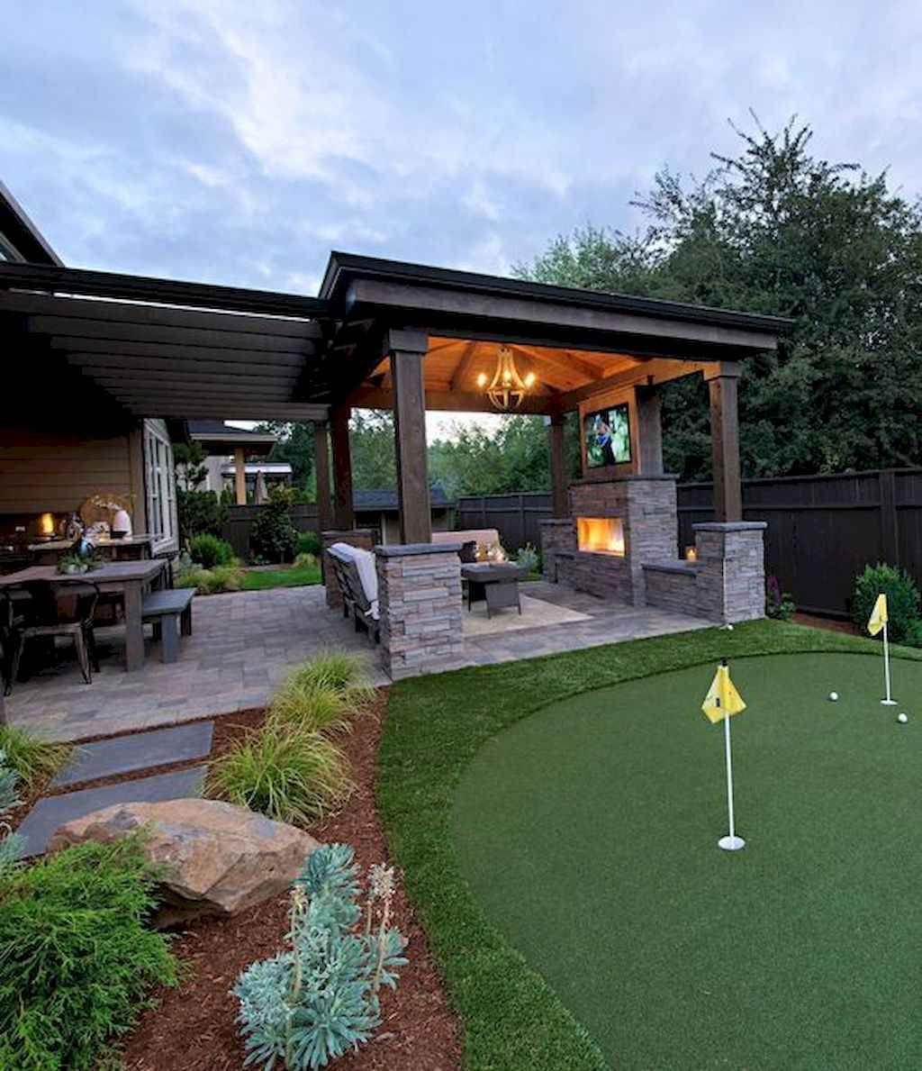 65 Amazing Backyard Garden Landscaping and Design Ideas #backyardideas