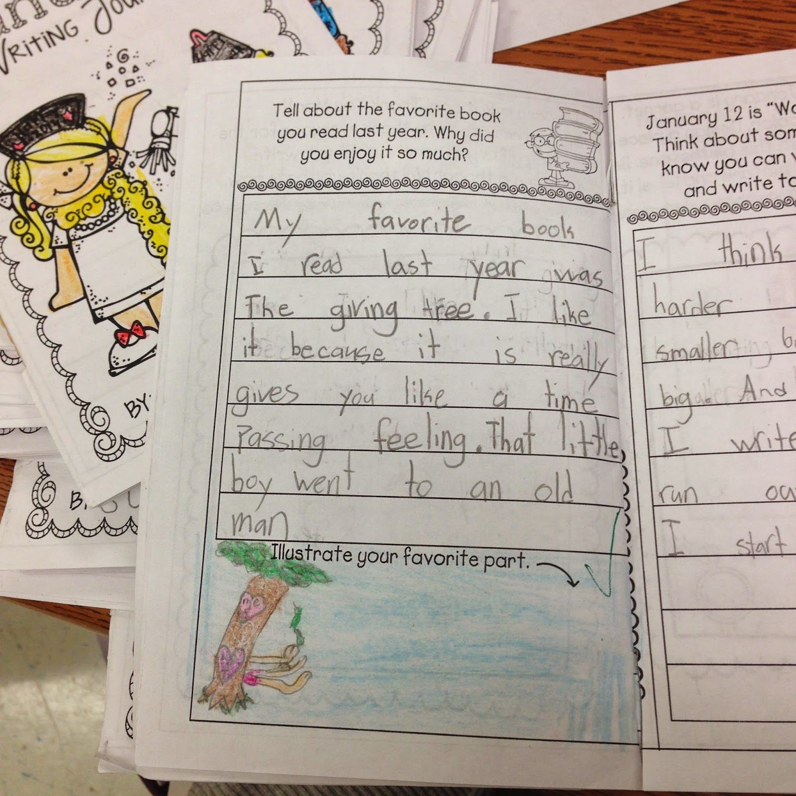Getting More Writing In Printable Writing Journals For First Through 3rd Grade They Are Great