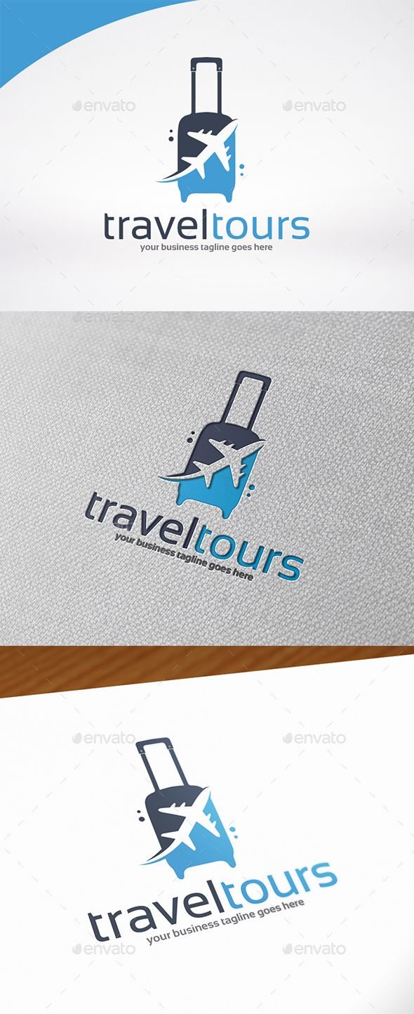 Pin by best graphic design on logo templates pinterest logo travel amp tours logo template psd vector eps ai download here cheaphphosting