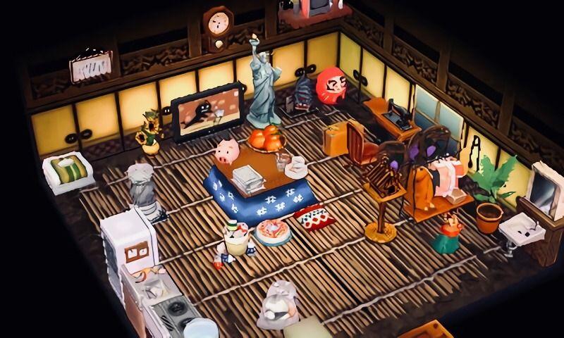 Pin By Arrlowe On Animal Crossing Interiors