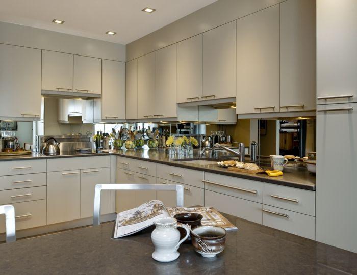rückwand küche glasrückwand küche küchenrückwand ideen | Küche ...