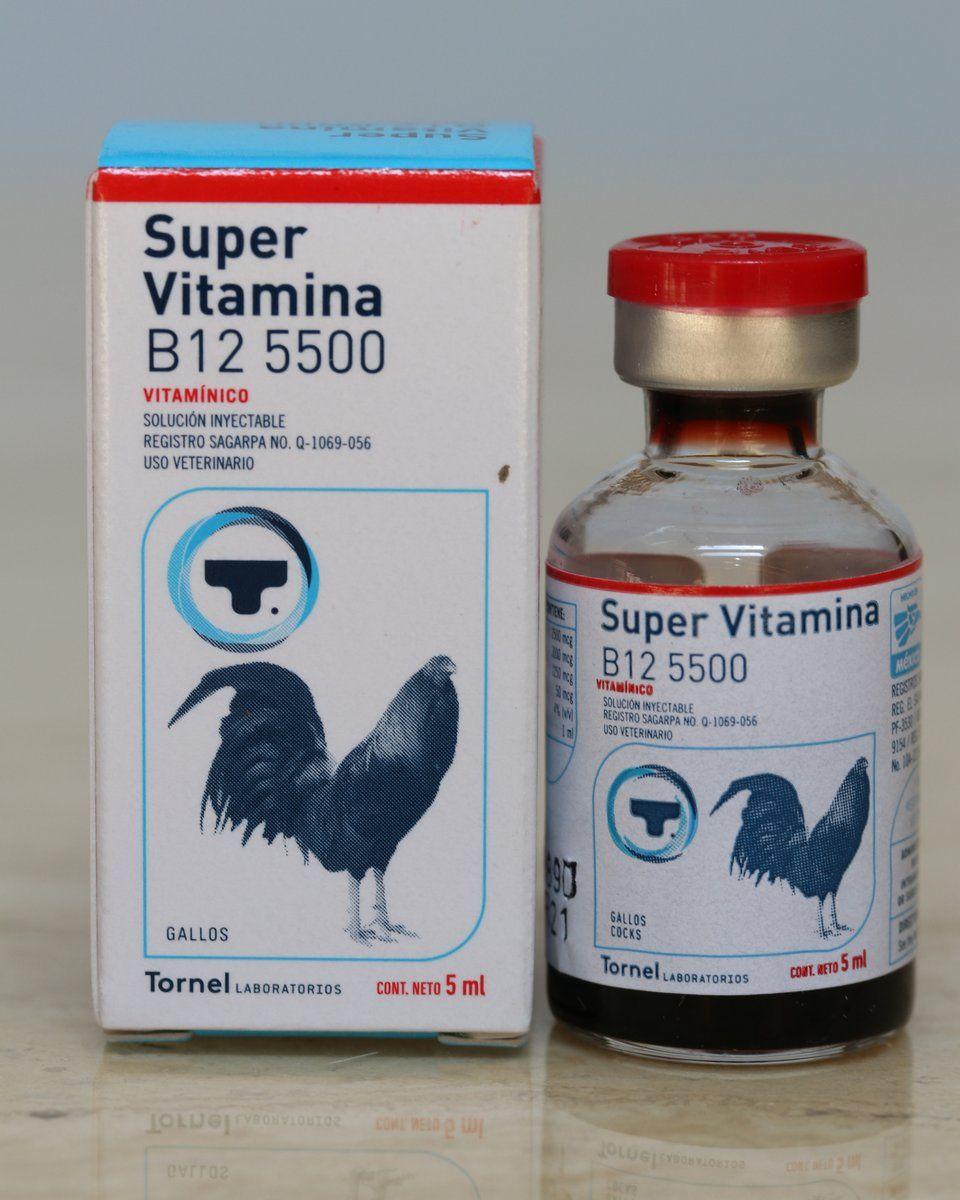 Super Vitamina B12 - 5500 | Gamefowl Health & Supplements | Health