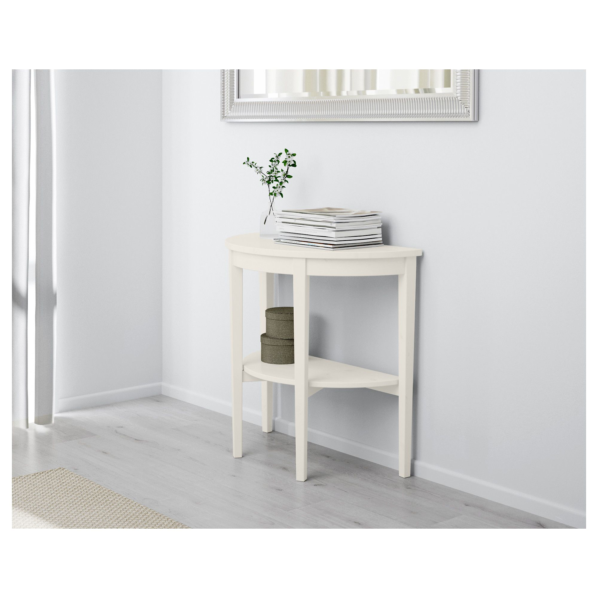 Ikea Arkelstorp Console Table White Console Blanc Consoles