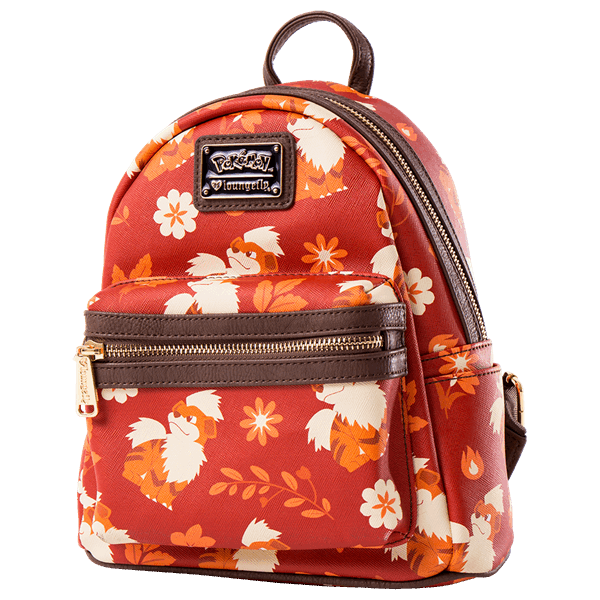 Pokemon - Growlithe Loungefly Mini Backpack - ZiNG Pop Culture ... 9b88c36251551
