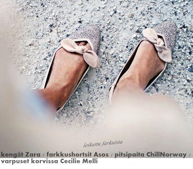Kalastajan vaimo - ME NAISET, kengät Zara
