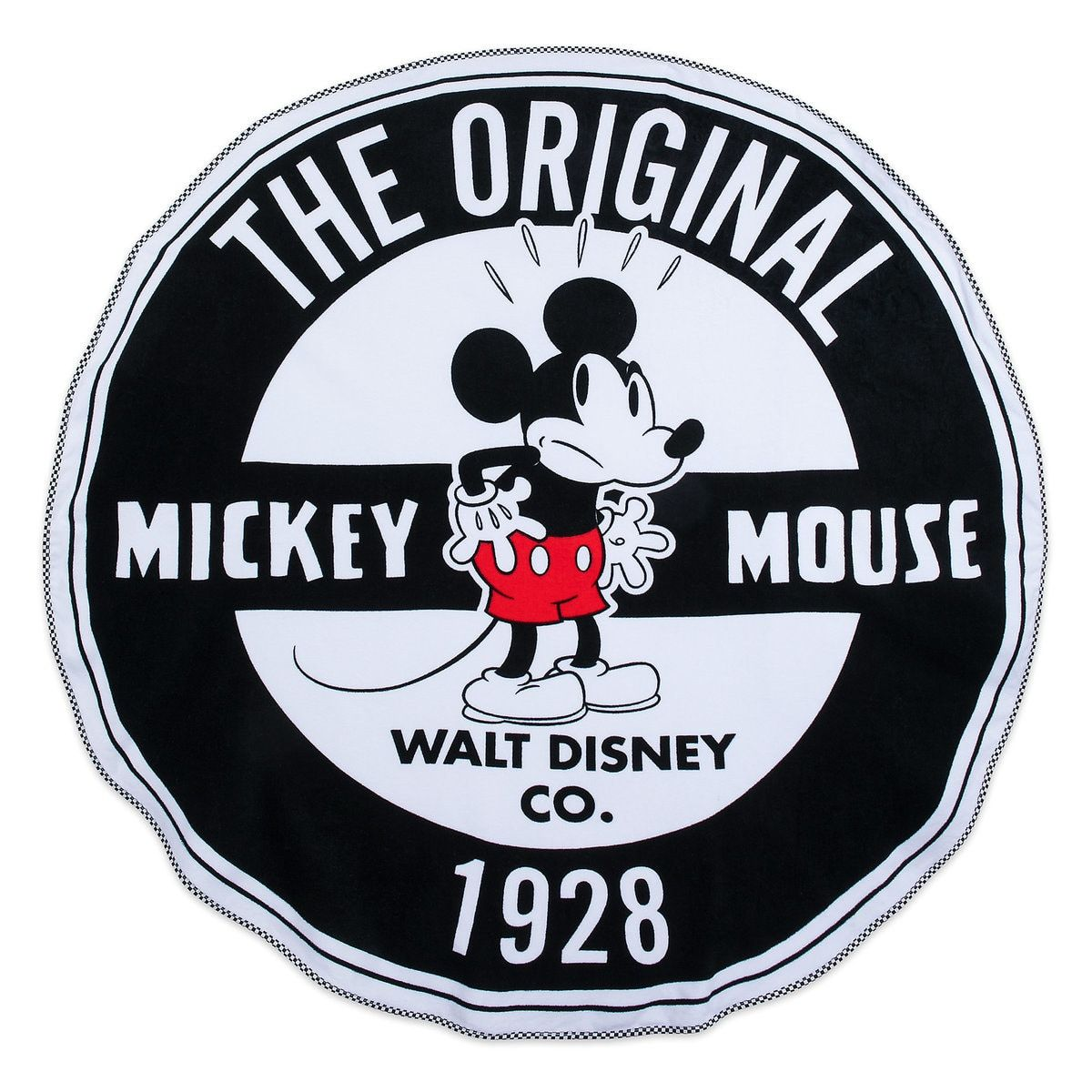 Mickey Mouse Round Beach Towel Oh My Disney With Images