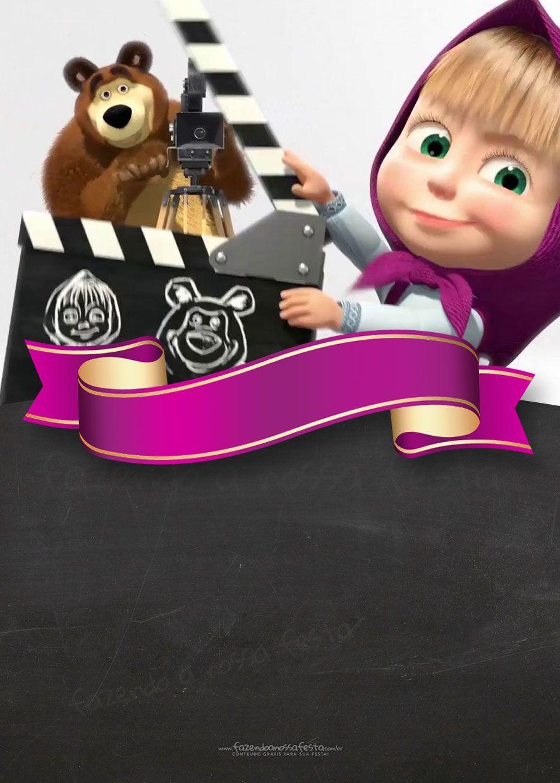 Pin De Tatiana Pimiento En Fiestas Infantiles Masha Y El