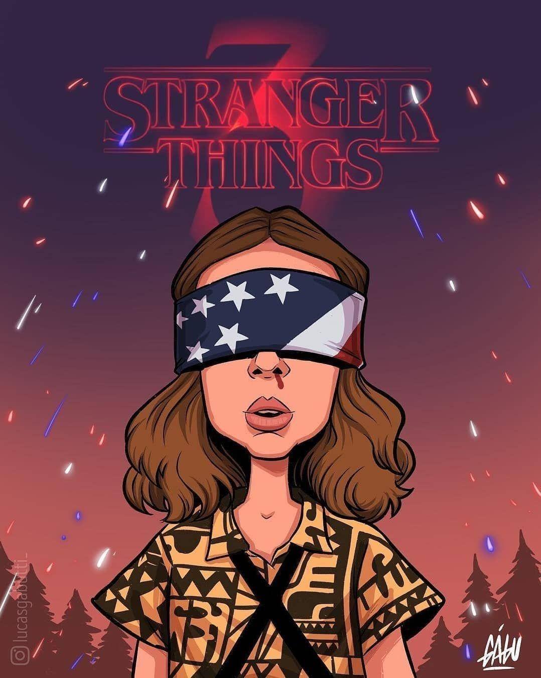 AranzaDrive Stranger things wallpaper, Dibujos de
