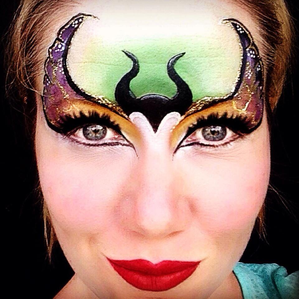 Maquillaje De Fantasía, Pinturas Faciales Y