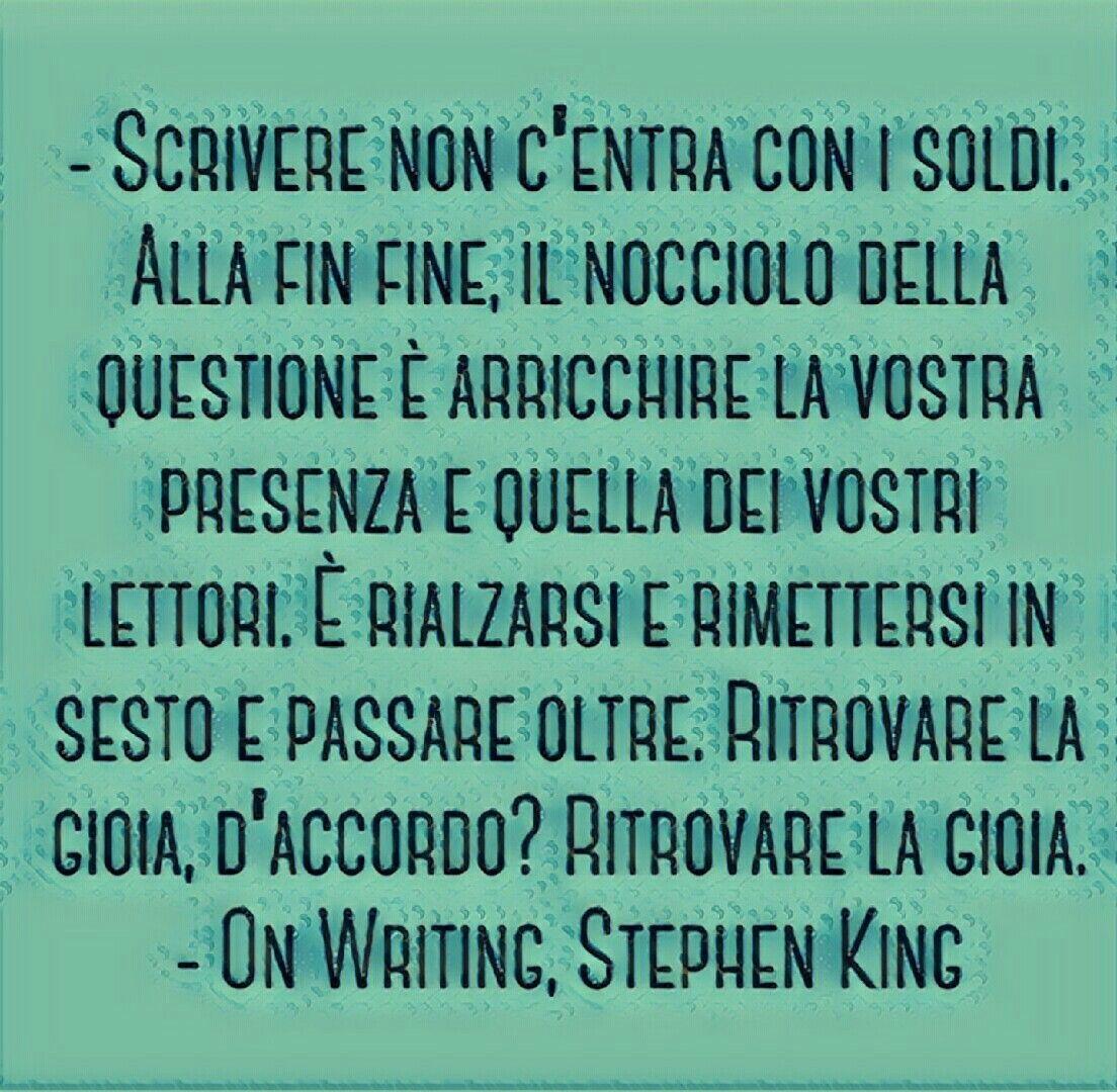 On Writing Stephen King Citazioni Scrittura Stephen King
