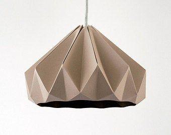 Photo of Artikel ähnlich Origami Papierlampe – Lampenschirm ZIGZAG Stern auf Etsy