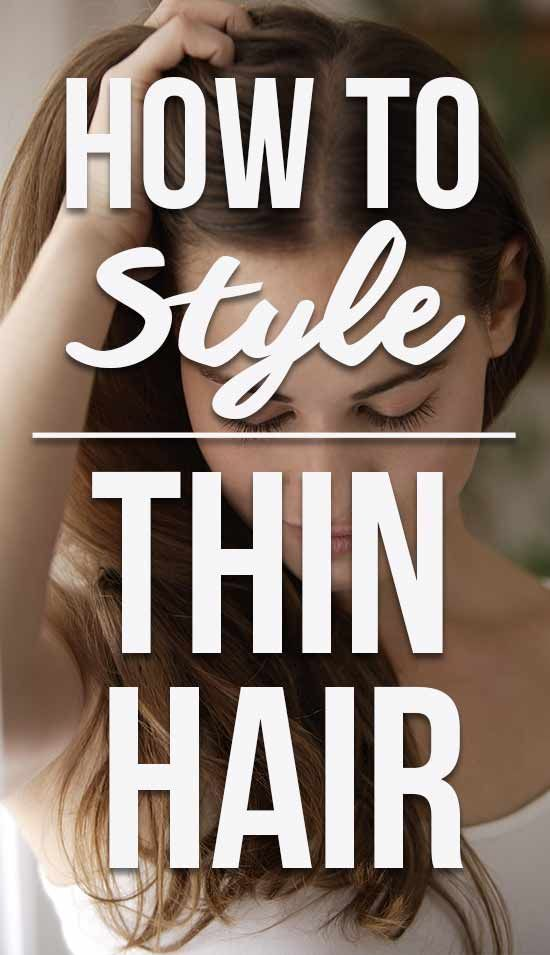 How To Style Thin Hair | Thin Hair Styling Tips | Thin Hair Hacks