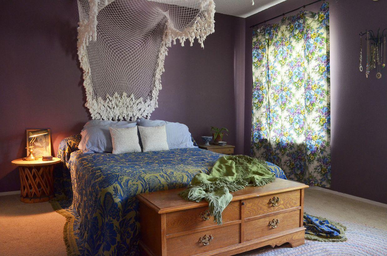 24 Comfortable Boho Bedroom Decoration Ideas