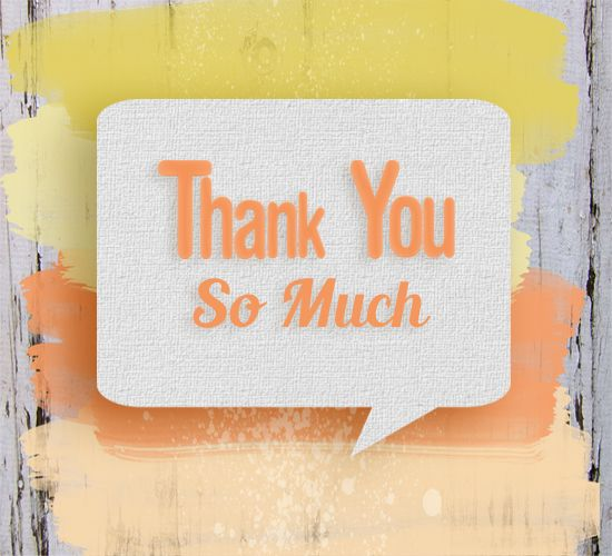 Simple thank you card to brighten up someones day ! Say thanks today :)
