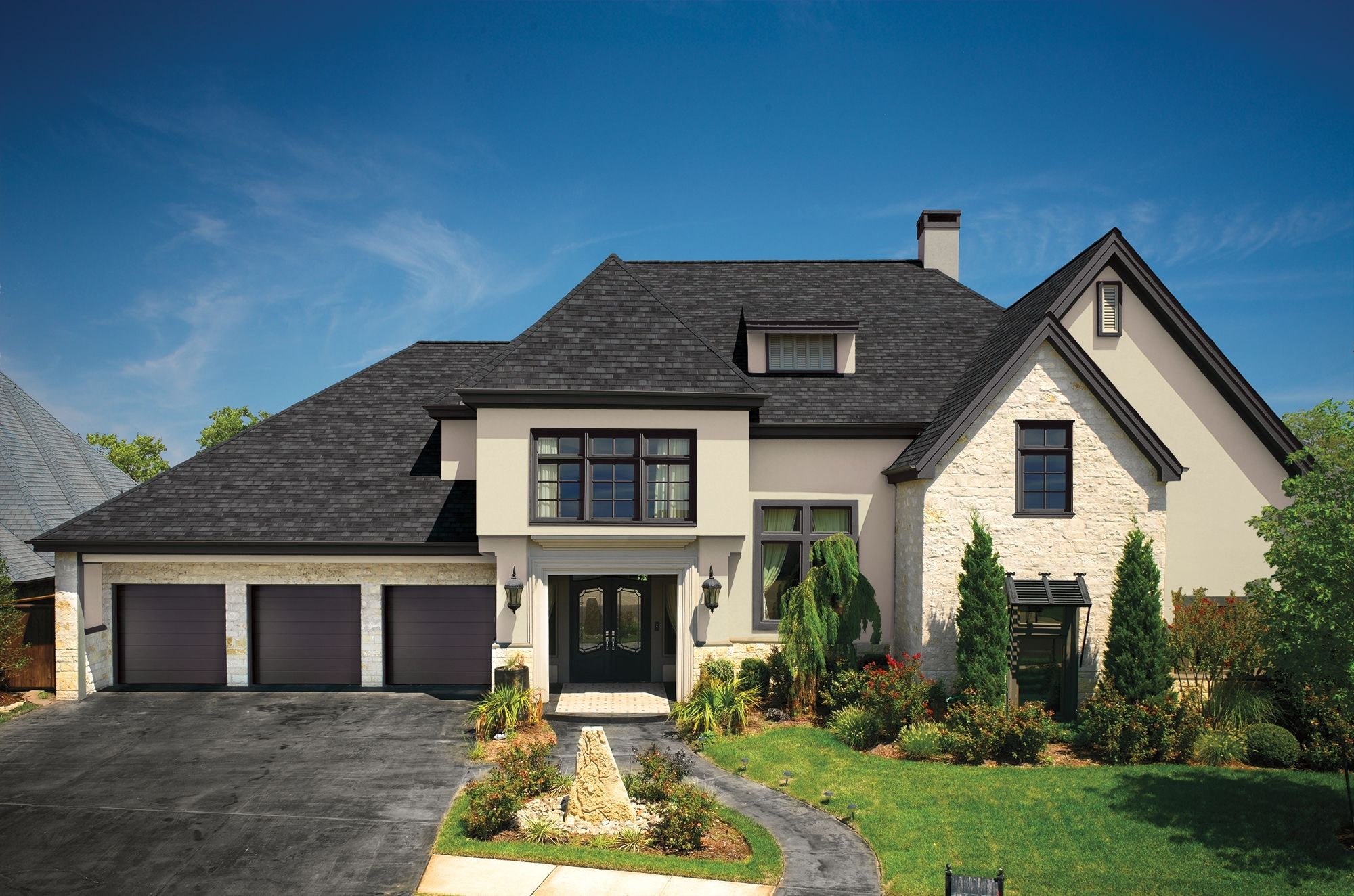 Http Www Gaf Com Roofing Residential Products Shingles Designer Camelot Ii Photos Beautiful Roofs Residential Roofing Roof Design