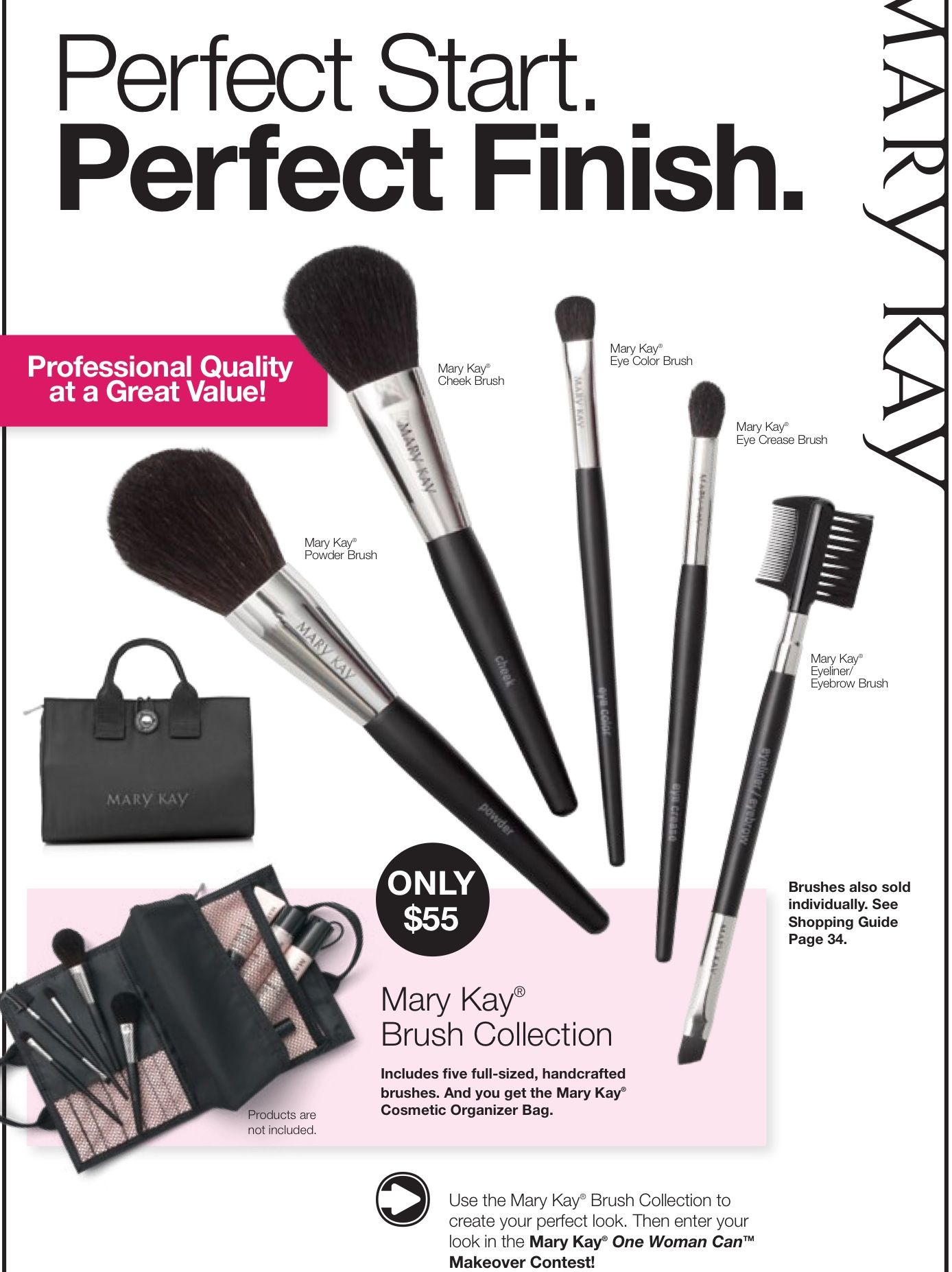Wonderful Brush Set. I'm a Mary Kay Beauty Consultant