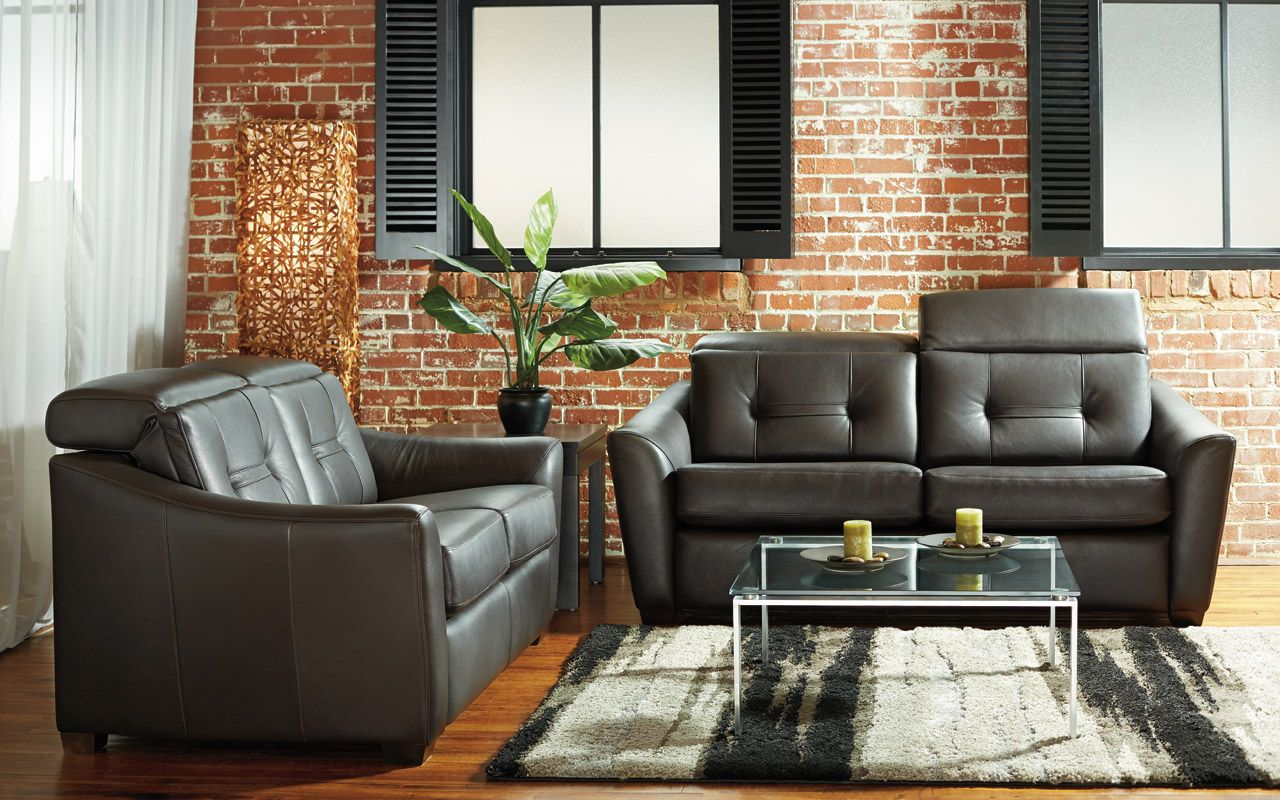 Apartment sofa Clario - Transitional Style - Parallelle 33 ...
