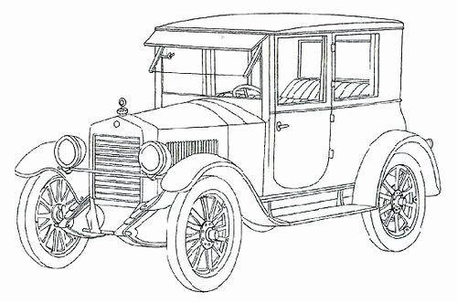 Car Coloring Book For Adults Fresh Classic Car Coloring Pages Es Coach In 2020 Cars Coloring Pages Truck Coloring Pages Coloring Pages