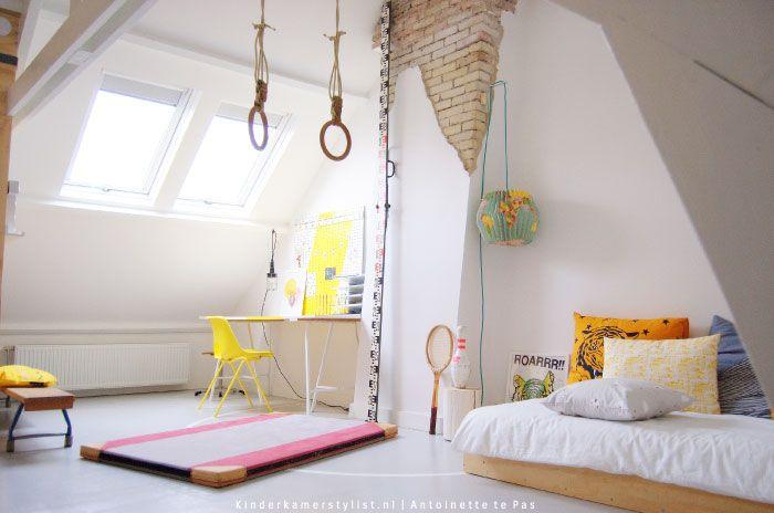 Speelzolder inrichten kinderkamerstylist.nl boys room in 2019