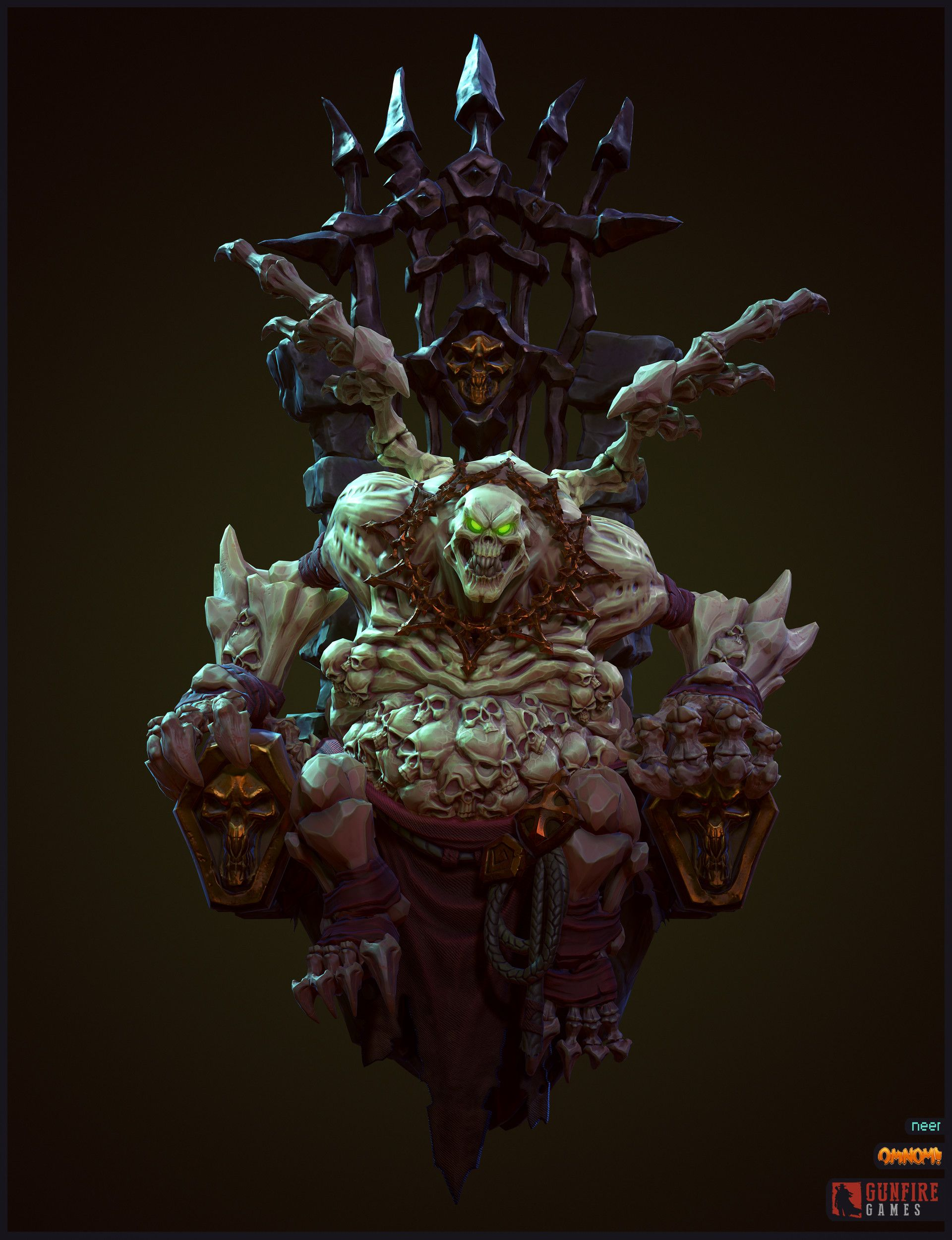 ArtStation - Corrupted Tomekeeper - Darksiders 3, Neer