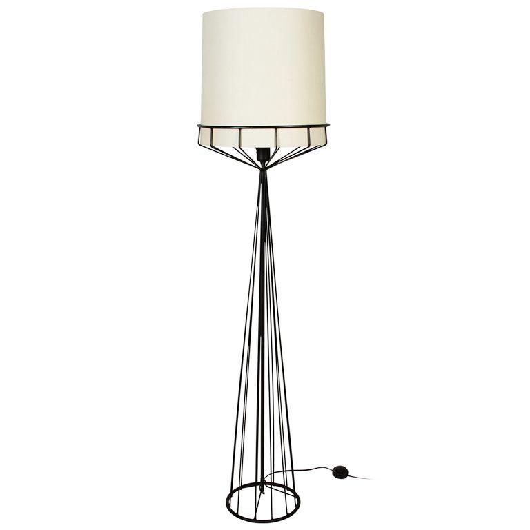 Wire Series Floor Lamp Tony Paul 1950s Interior Lighting Lamp Modern Lighting