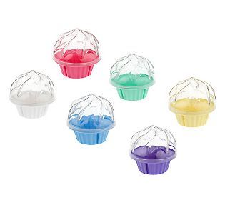 Cupcake to Go individual cupcake transporters. Love this idea! Set of six is about $20.00 including shipping.  Why can't I think of stuff like this?