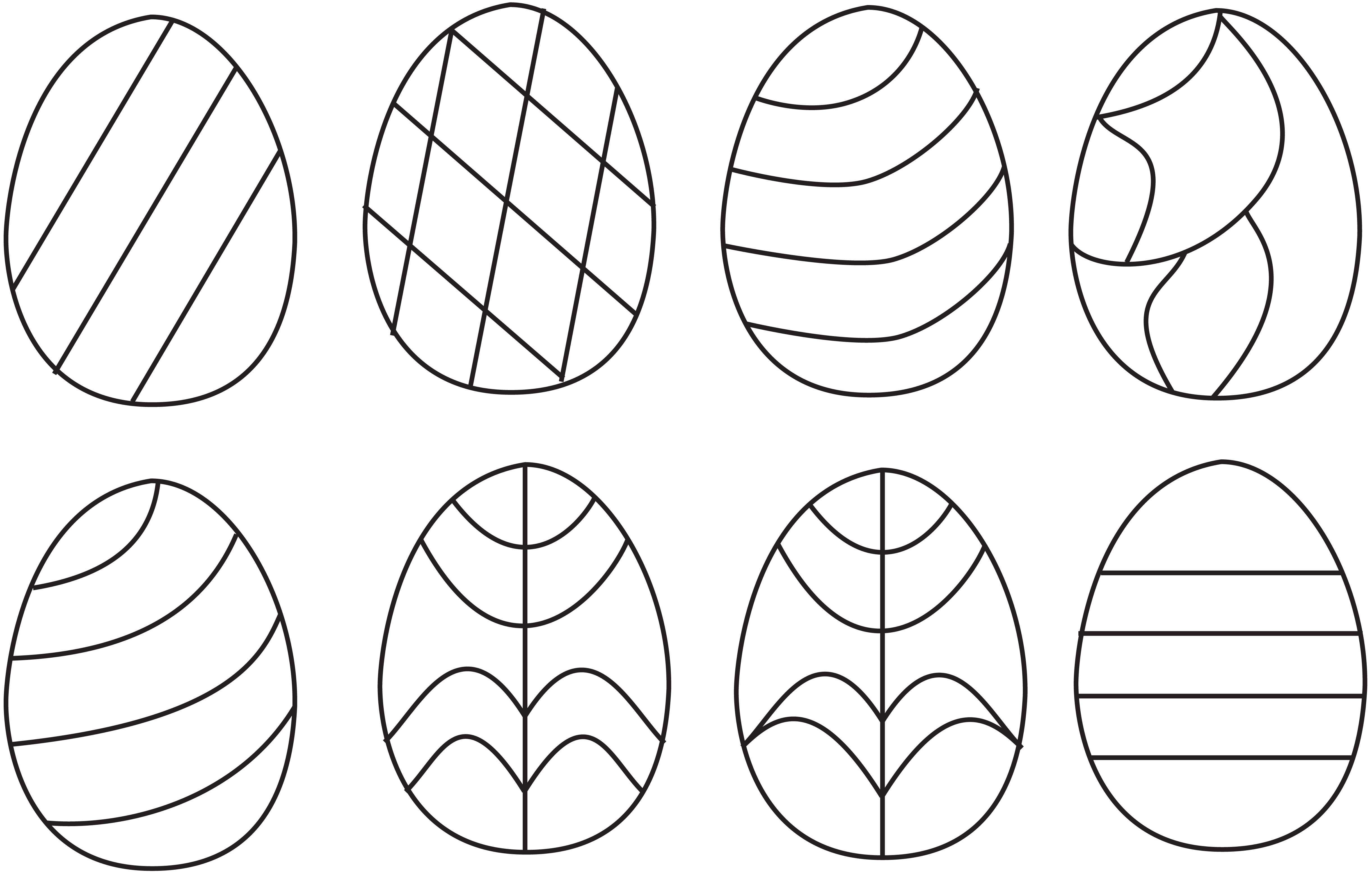 Original Stained Glass Template Easter Eggs By Curlycrocus On Stained Glass Patterns Free Stained Glass Suncatchers Stained Glass