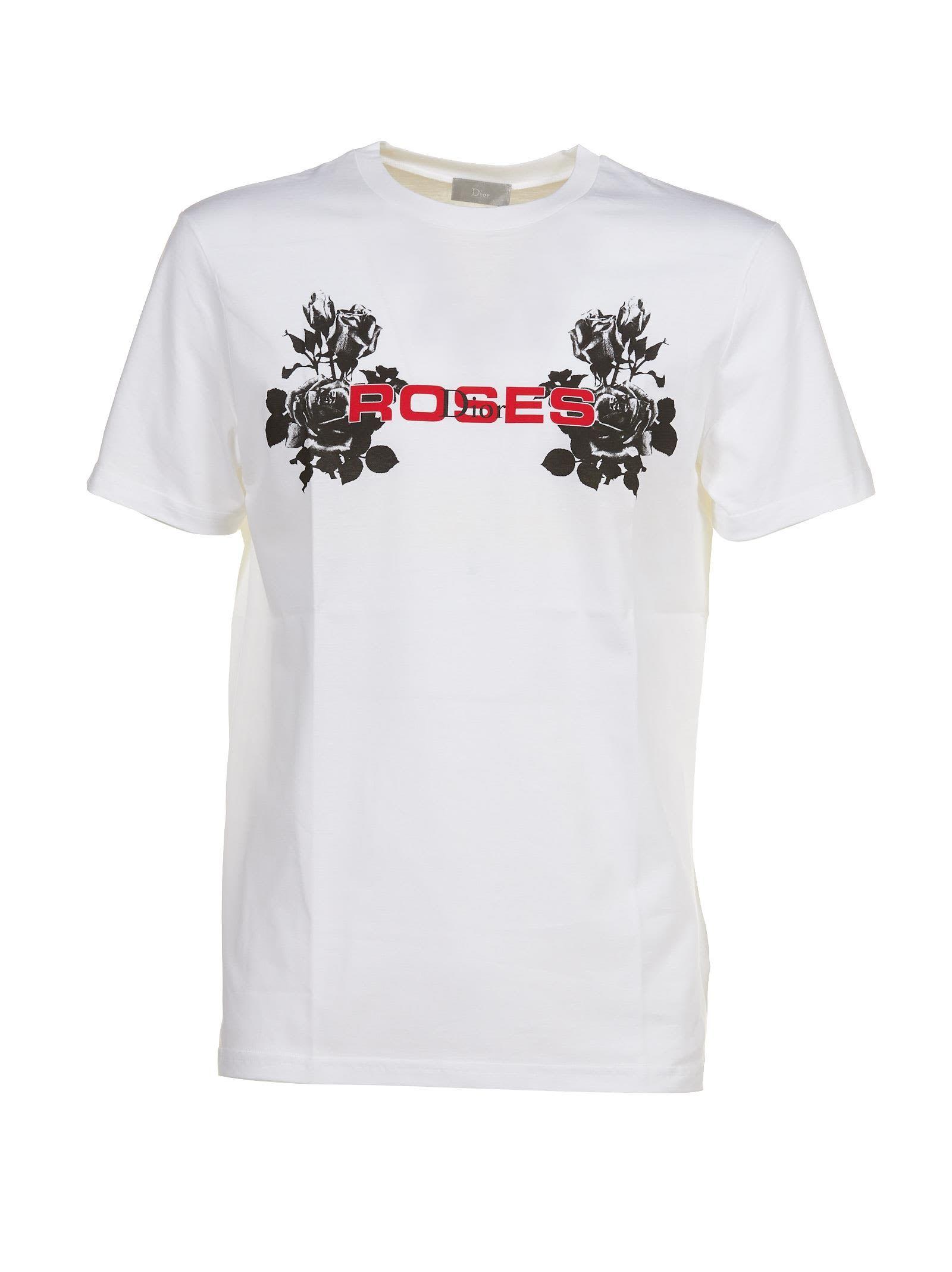 582e46e0 DIOR HOMME ROSES T-SHIRT. #dior #cloth #   Dior Men   Dior, Shirts ...