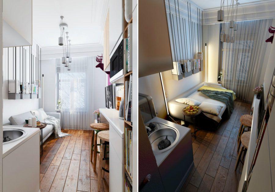 interior design for 24 sq meter condos