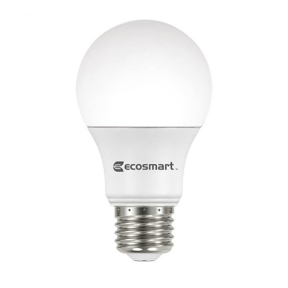 Ecosmart 60 Watt Equivalent A19 Non Dimmable Cec Led Light Bulb