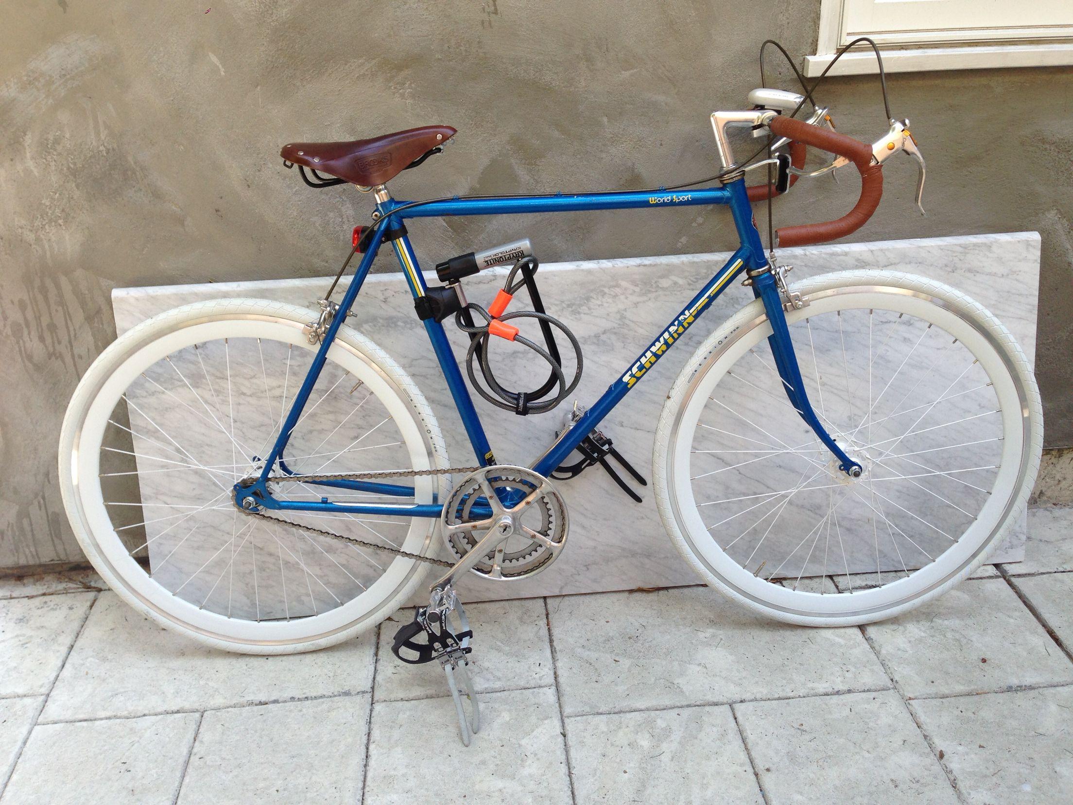 1985 Schwinn World Sport conversion Bike restoration