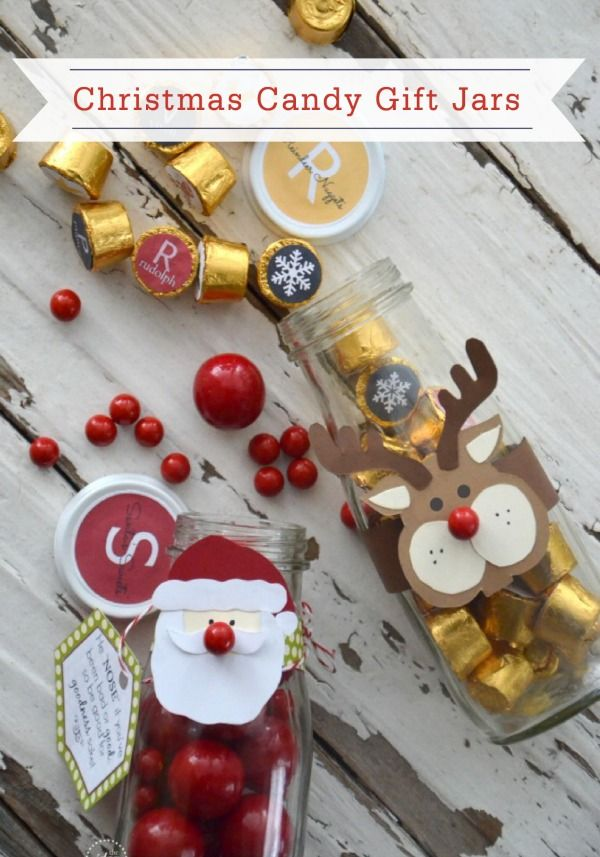 Christmas Candy Gift | Christmas candy gifts, Christmas candy and Jar