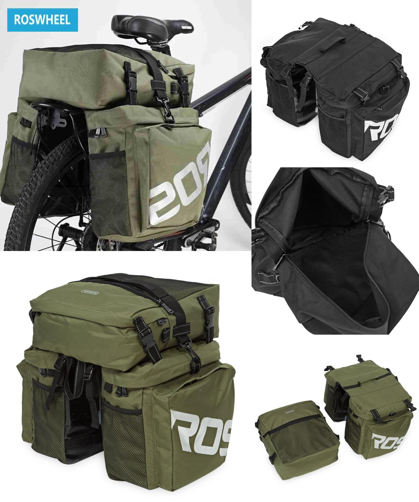 Visit To Roswheel Bike Bags 37l Mtb Mountain Rack Bag 3 In