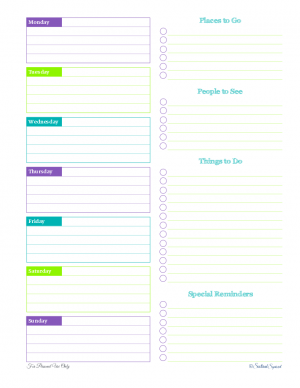 personal planner free printables planners pinterest weekly