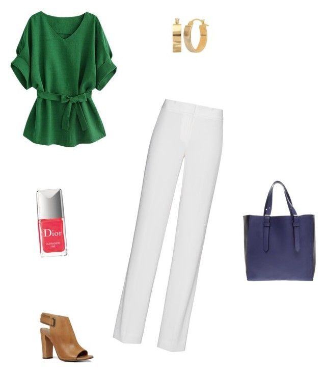 """Cool as a Cucumber"" by terryjo1972 on Polyvore featuring DKNY, ALDO, Reed Krakoff and Christian Dior"