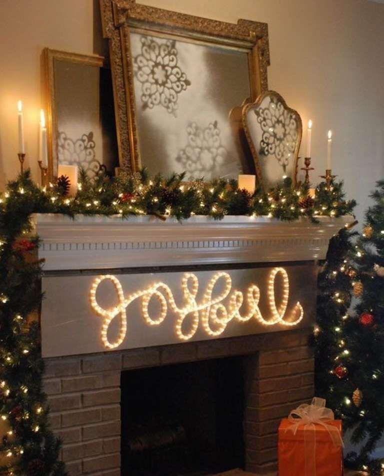 50 Trendy And Beautiful Diy Christmas Lights Decoration Ideas Decorating With Christmas Lights Diy Christmas Light Decorations Indoor Christmas Lights