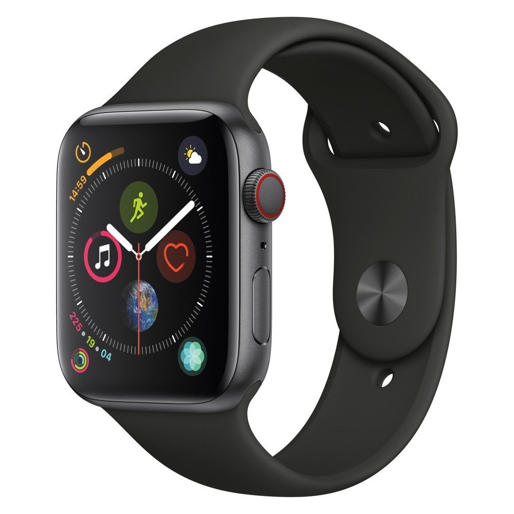 Apple Watch Series 4 Nike+ Gps 44mm Space Gray Aluminum