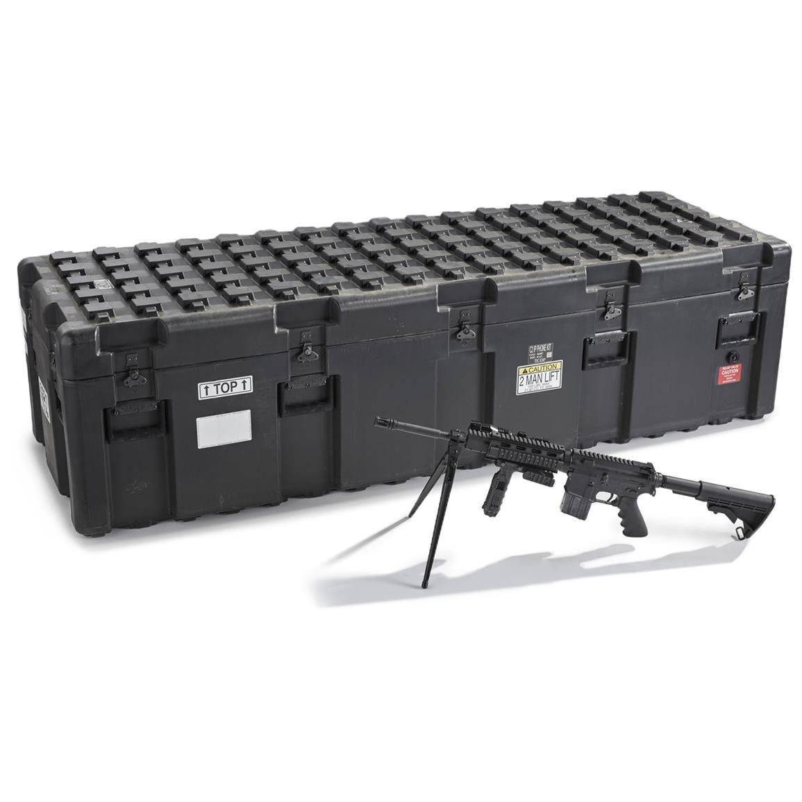 Military Issue Xl Waterproof Shipping Case New Storage Containers At Sportsman S Guide