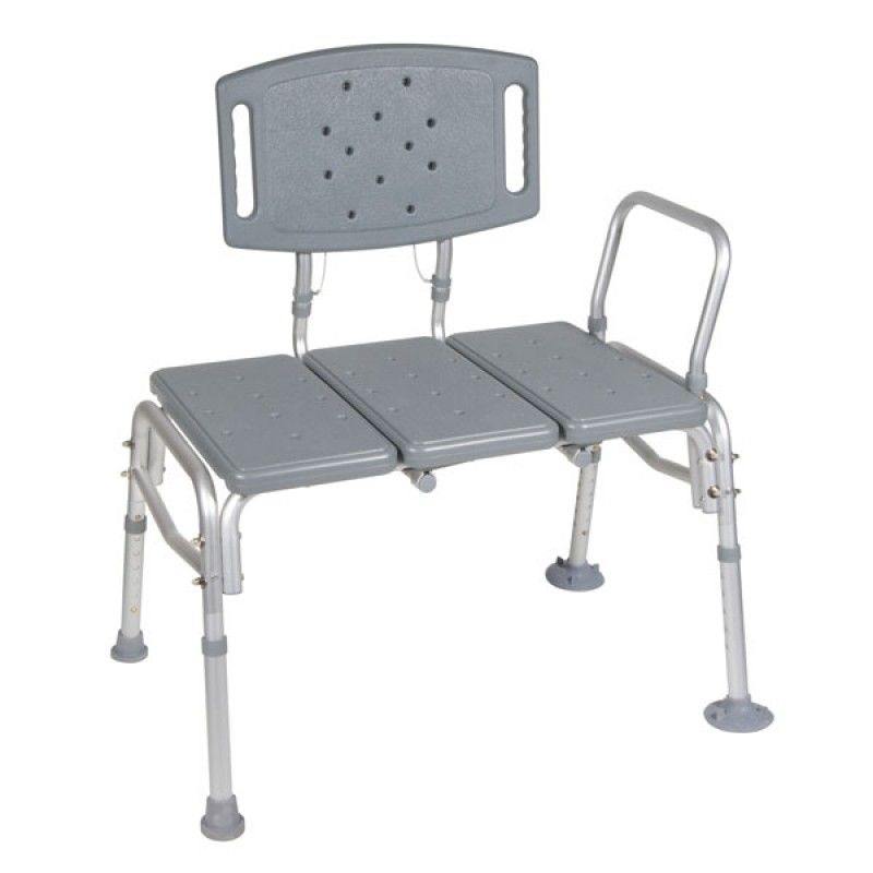 Heavy Duty Bariatric Plastic Seat Transfer Bench Open Box Special Transfer Bench Benches For Sale Bench With Back