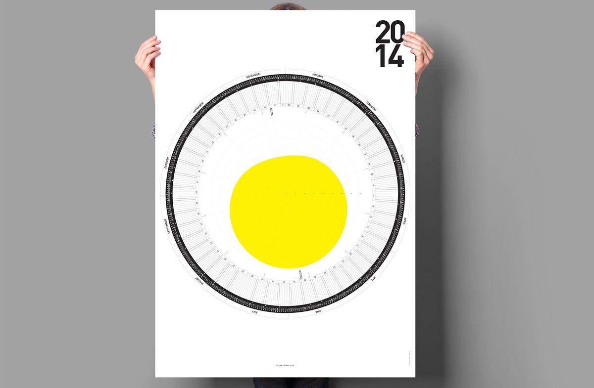 Regalador.com - Circular Calendar: el calendario más original