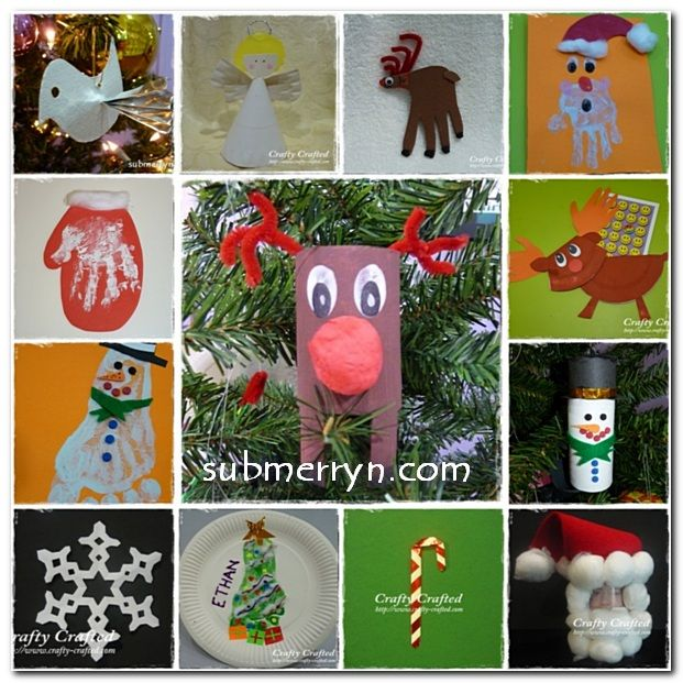 15 Christmas Craft Ideas for Kids Christmas Pinterest
