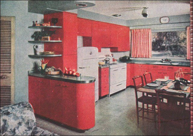 1950s Kitchen Images