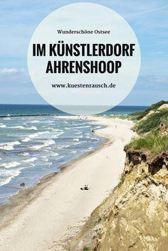 Ostsee Tipp: Spaziergang in Ahrenshoop. Die Künstlerkolonie an der Steilküste auf dem Darß. #baltic