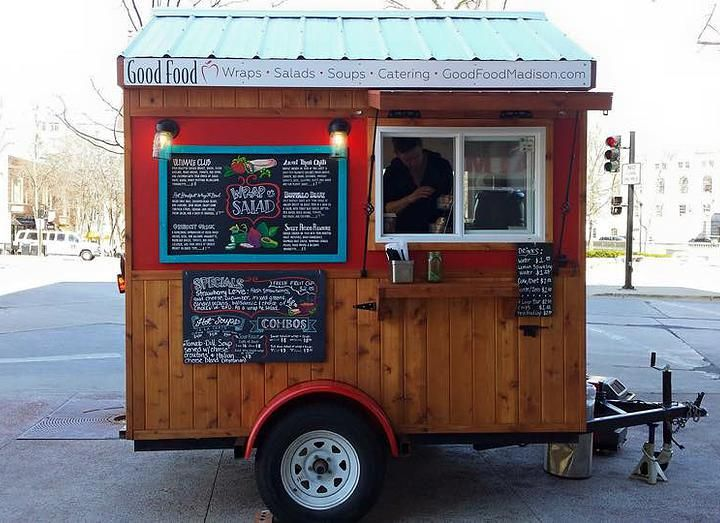 food truck trailer designs caged crow fabrication mobile rh pinterest com