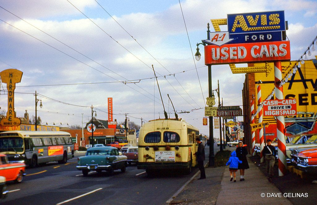 Used Cars Lafayette In >> DSR Detroit Trolley Bus - Ford Dealership - A-1 Used Cars ...