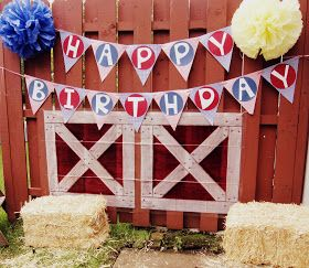 "After YES, Before I DO and Everything In Between: ""Farm Sweet Farm"" 1st Birthday Party"
