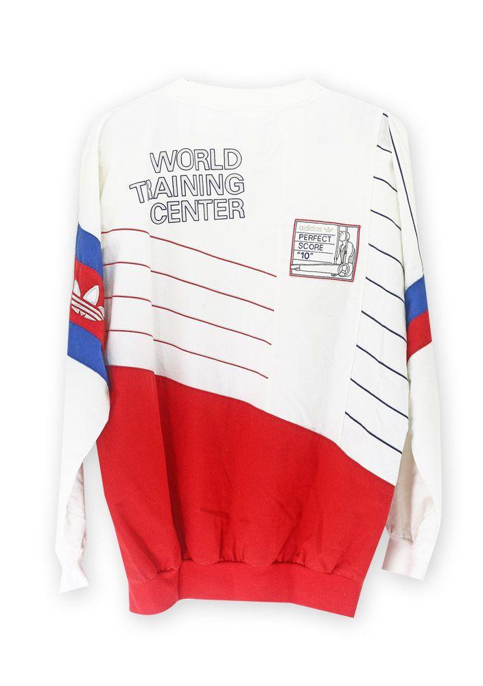 Adidas Gymnastics sweatshirt   Sweatshirts, Adidas, Vintage