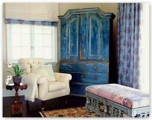 Blue Armoire by twila
