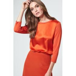 Seidenshirt in Orange windsor #winterworkoutfitsforwomen